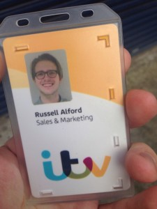 russell alford, ITV, identity, work, media, runner, radio, television