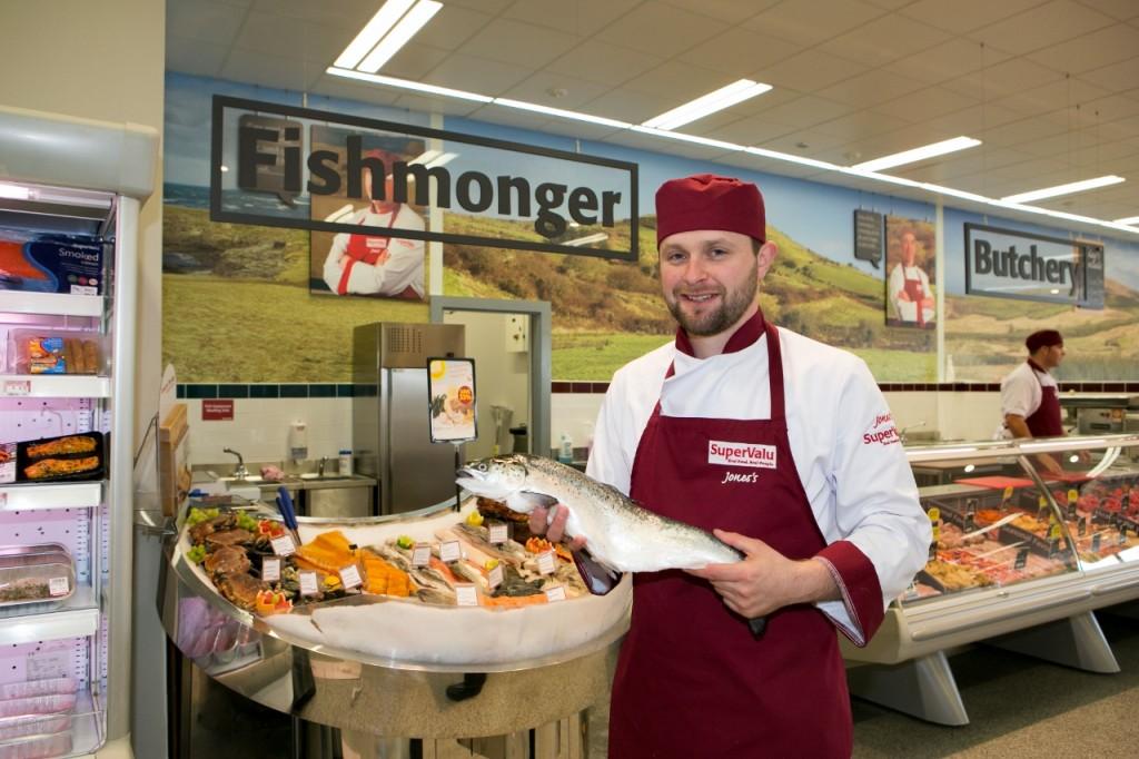 supervalu fish, supervalu fishmonger, fish counter supervalu, irish fish, irish fishmonger,