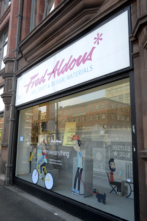 fred aldous manchester, aldous ltd, stationery manchester,