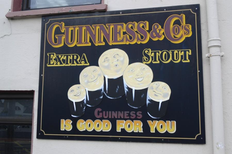 guinness stout, guinness advertisement, guinness sign, vintage guinness