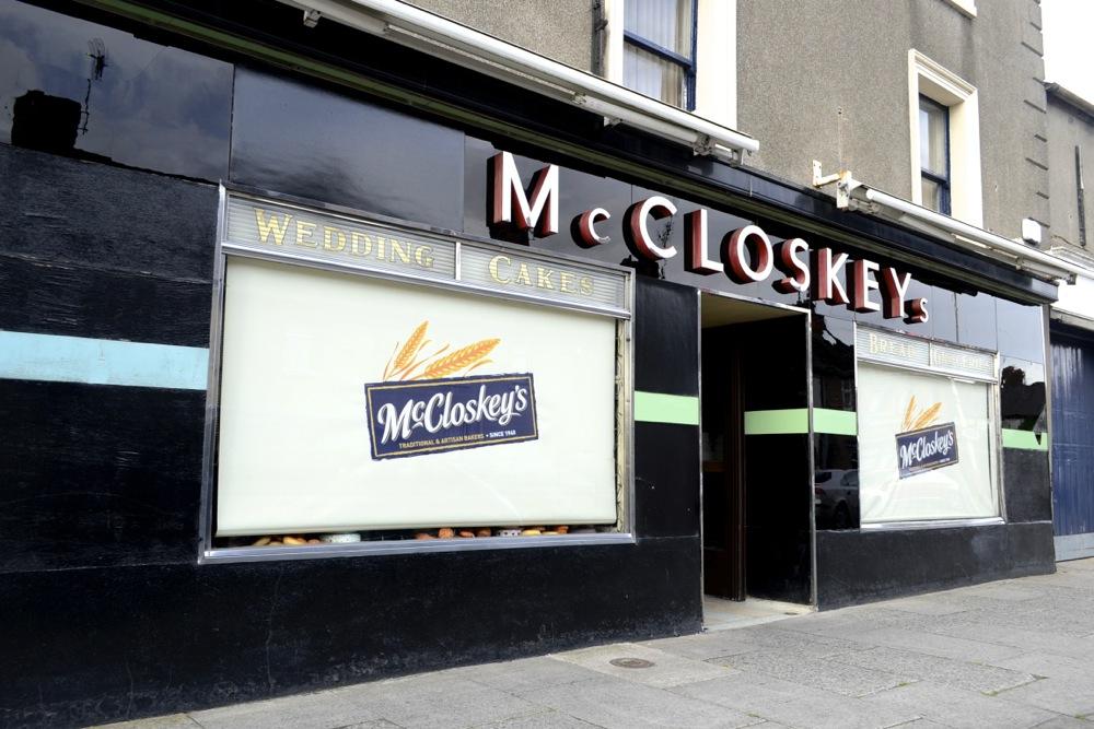 trinity street drogheda, mccloskeys bakery, mccloskeys drogheda,