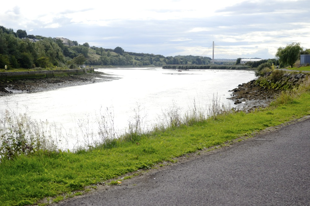 river boyne, bridge of peace, bridge drogheda, drogheda on the boyne,