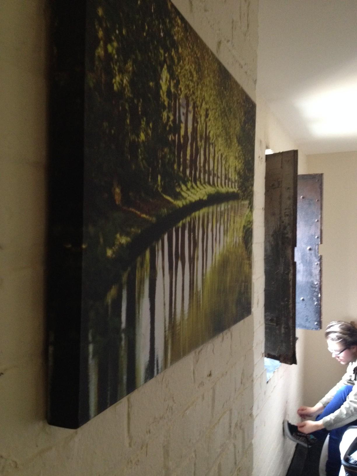 victoria warehouse room artwork