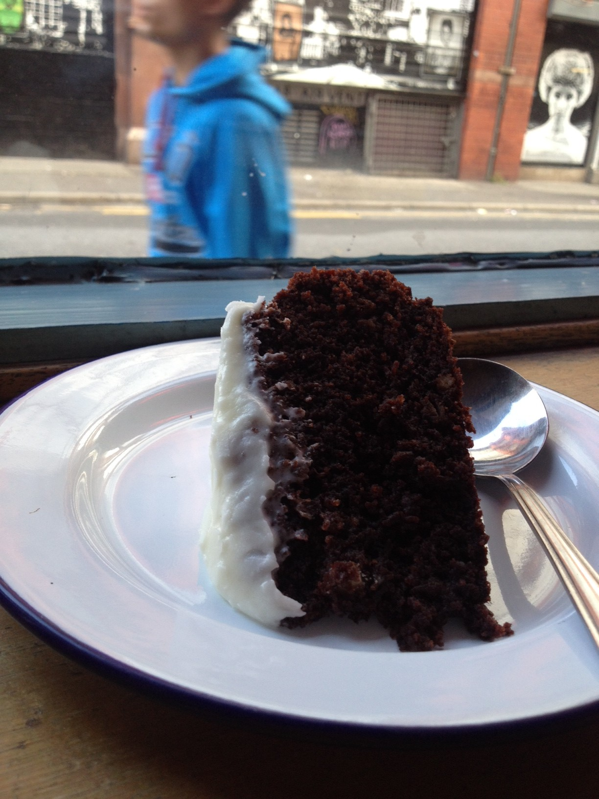 soup kitchen cake, soup kitchen manchester, guinness cake recipe