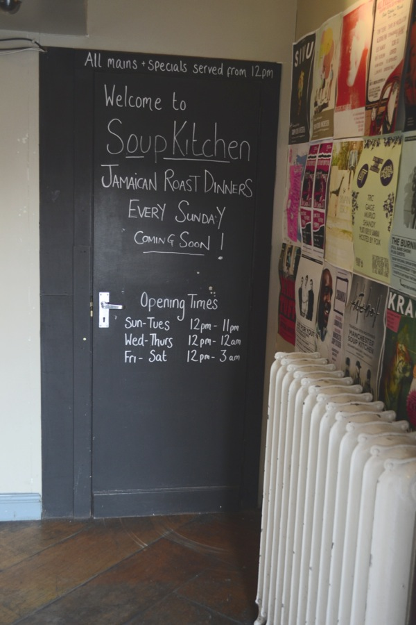 soup kitchen sign manchester