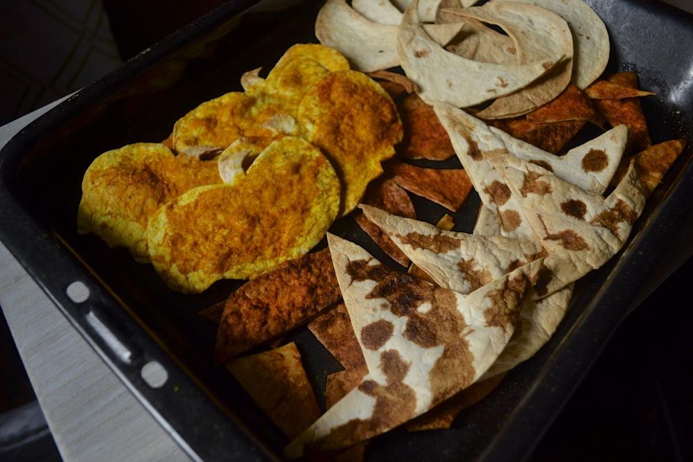 tortilla chips homemade, tortilla chip shapes, spooky chips, halloween chips, halloween recipe, spooky tortilla