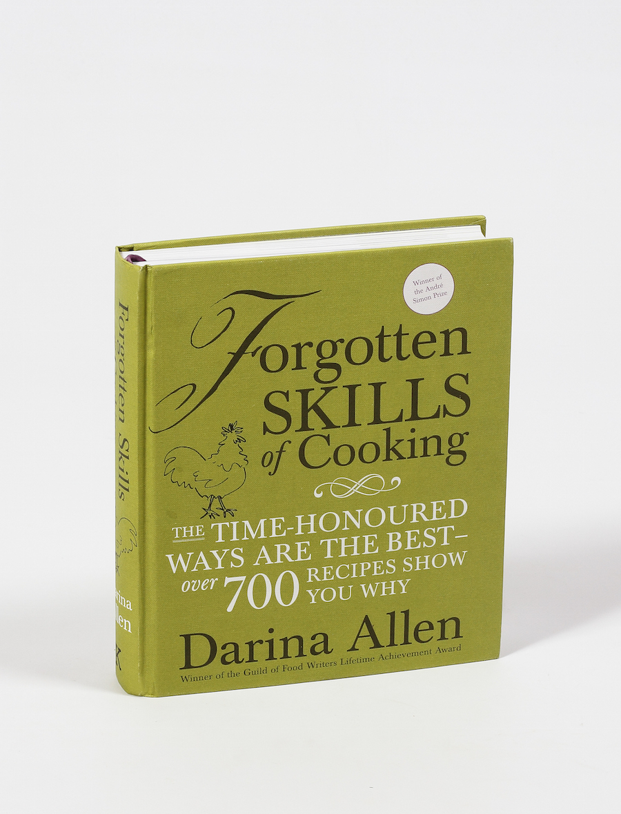 Forgotten Skills of Cooking by Darina Allen, €42, available at makersandbrothers.com