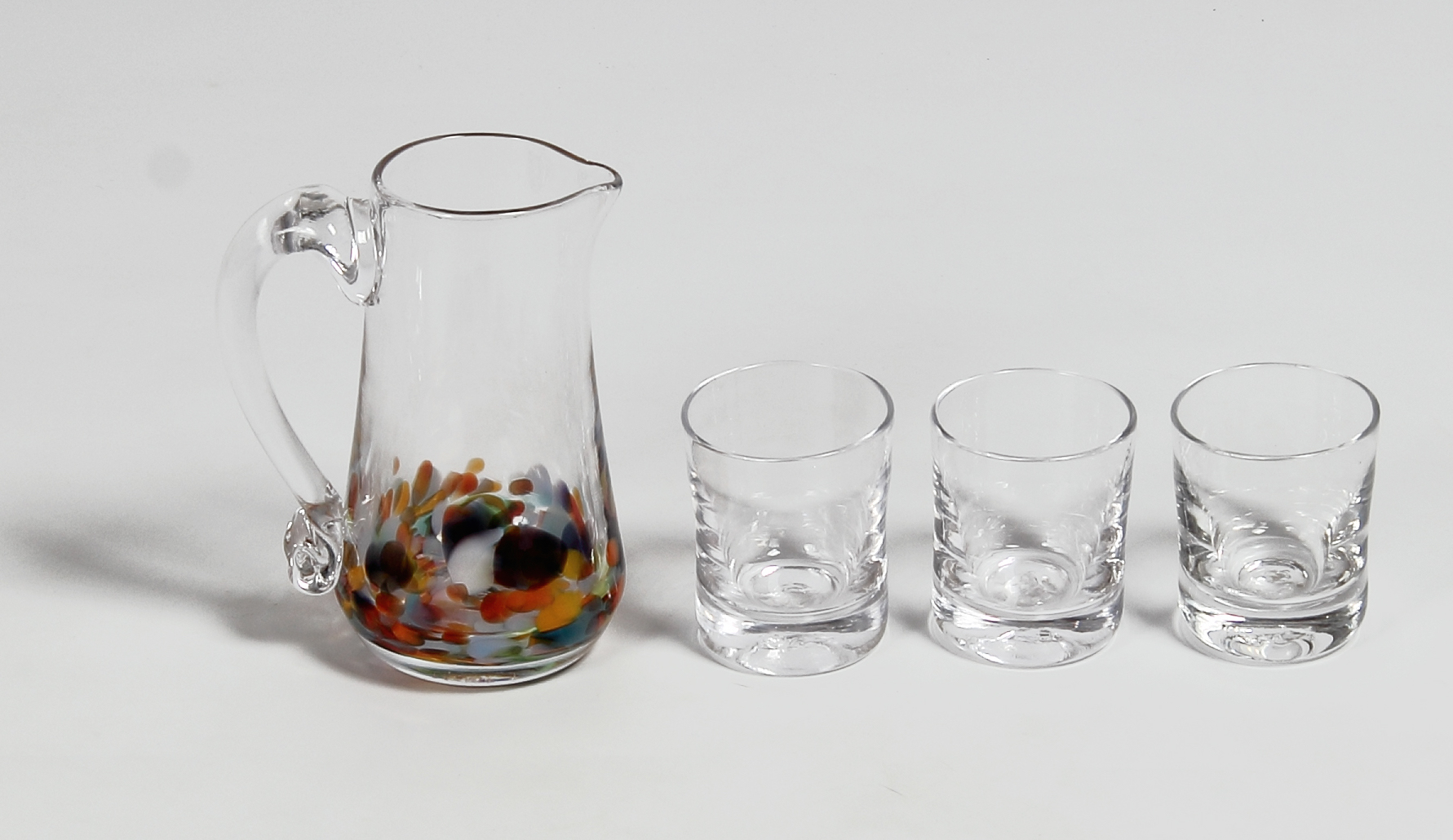 Multi-Colour Jug & Glasses_Jerpoint_€65