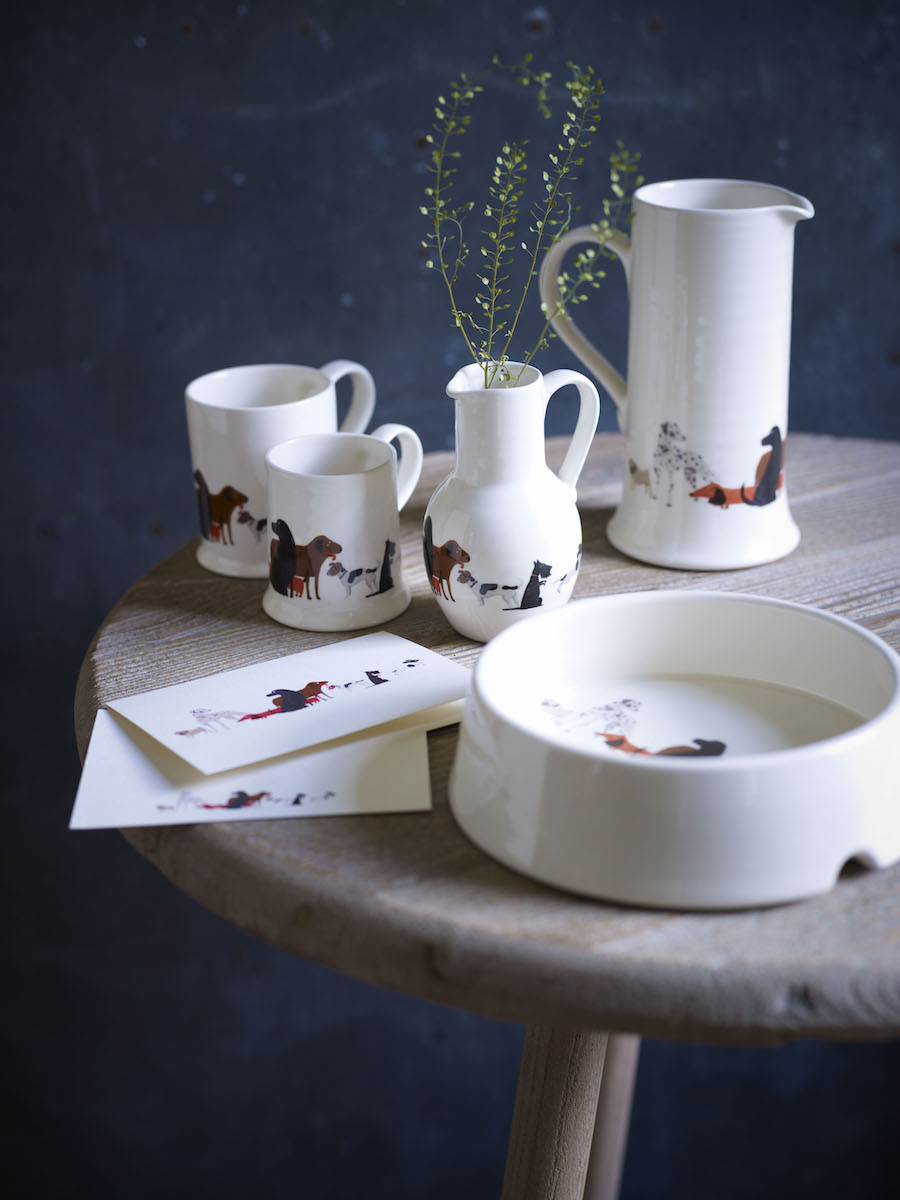 Dogs Trust Collection by Fenella Smith, available at various stockists and online