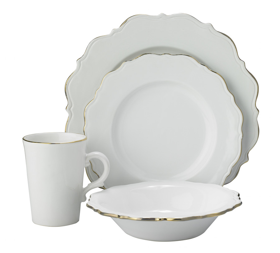 'Shabby Chic' dinner set, available at House of Fraser in individual pieces