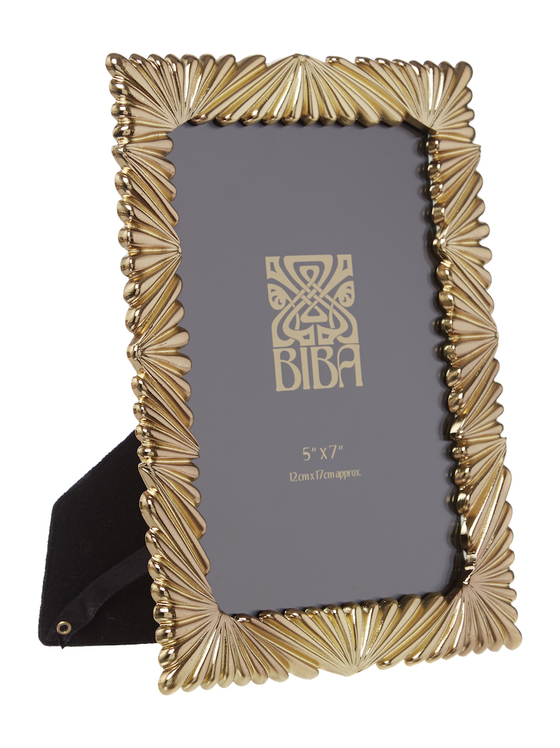 Gold frame, £24, by Biba available exclusively at House of Fraser