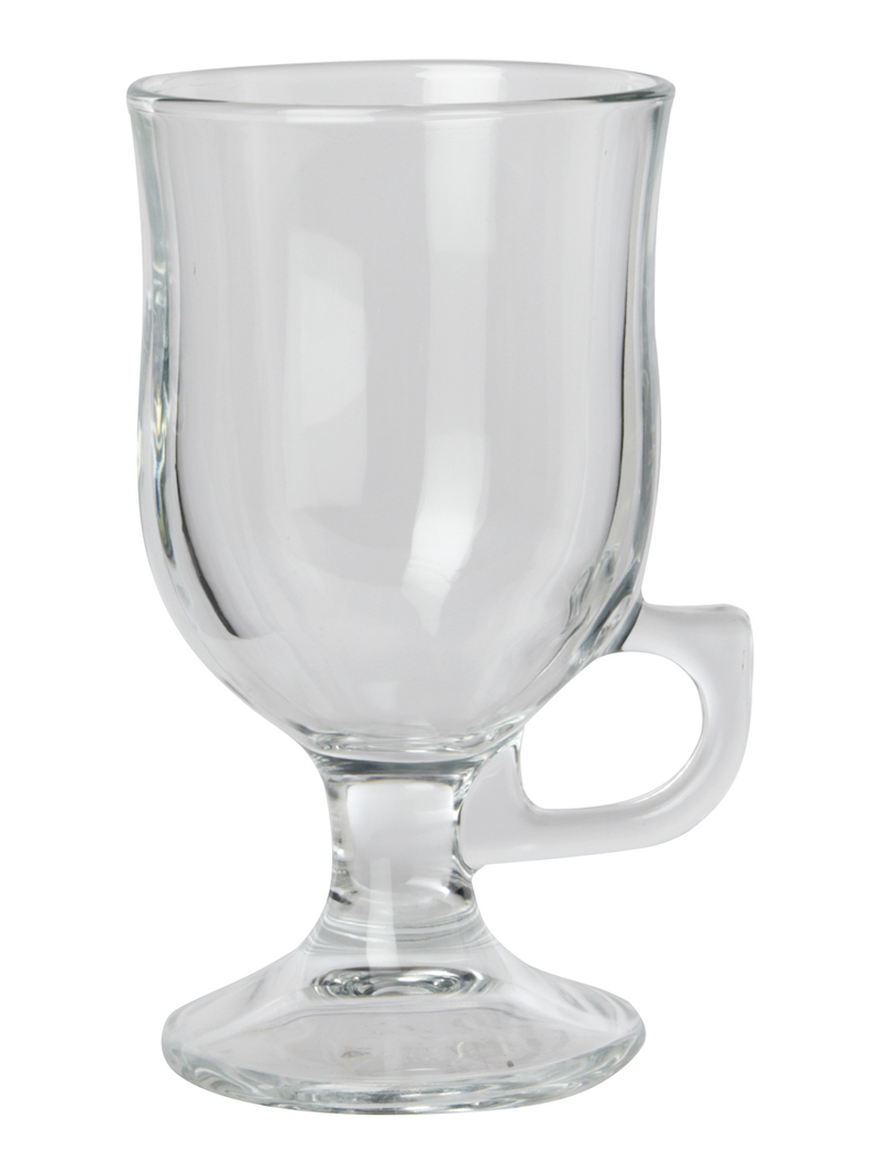Irish coffee glass, £10, available at House of Fraser