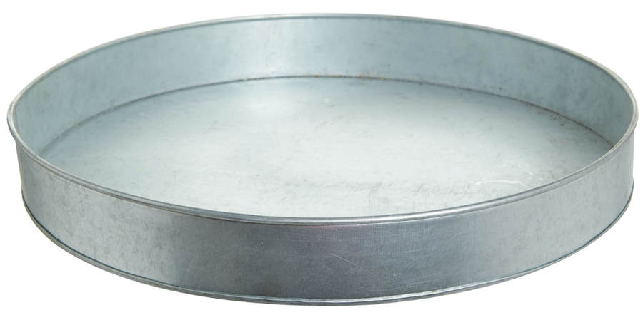 Galvanised tray, €12, Helen James,