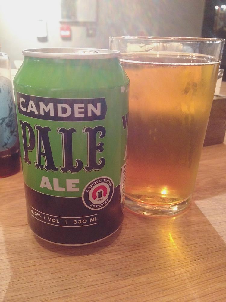 camden beer, camden town hook, london beer camden