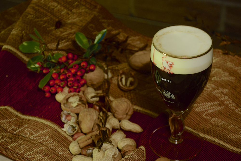 irish coffee, dark irish coffee, irish coffee recipe, traditional Irish coffee