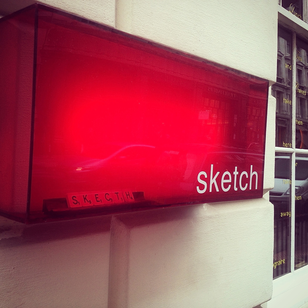 sketch london, sketch gallery, sketch afternoon tea