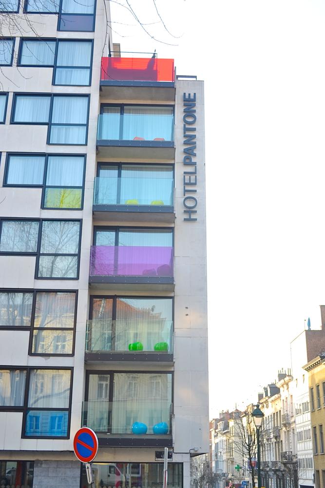 Pantone Hotel, Pantone Brussels, Hotel in Brussels, Pantone bruxelles, Place Loix, Rue Berckmans