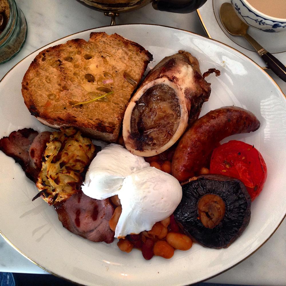 pedler peckam, pedler peckham rye, pedler breakfast, bone marrow breakfast