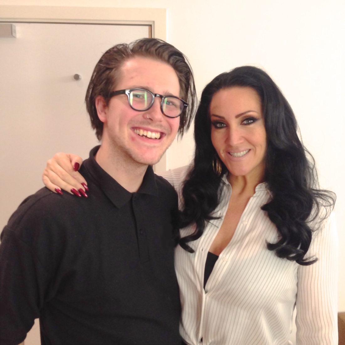 michelle visage, russell alford, itv michelle visage, itv russell alford, gastro gays michelle visage
