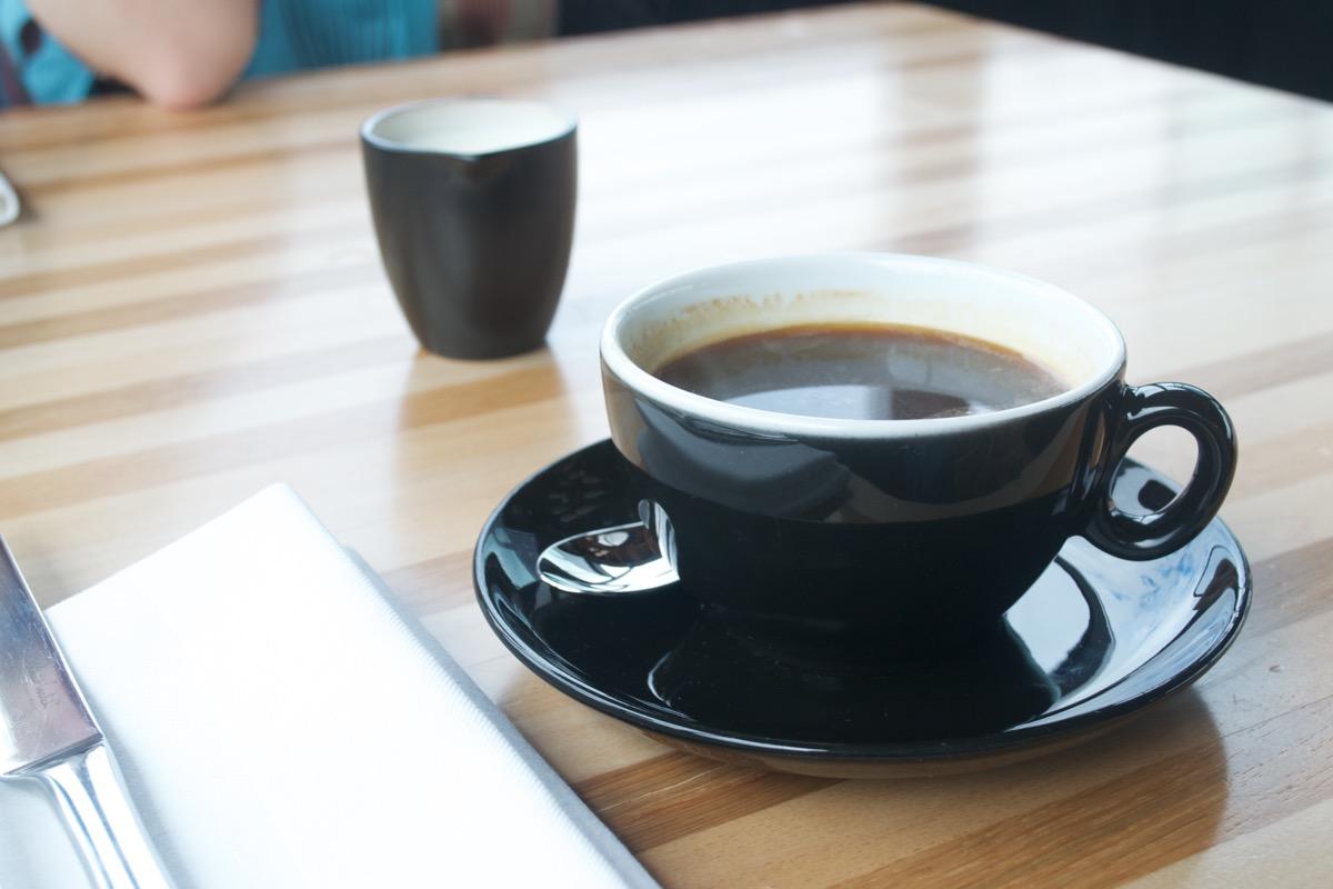 black americano coffee sophies dublin