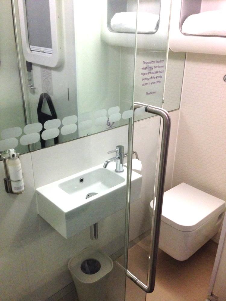toilet yotel cabin