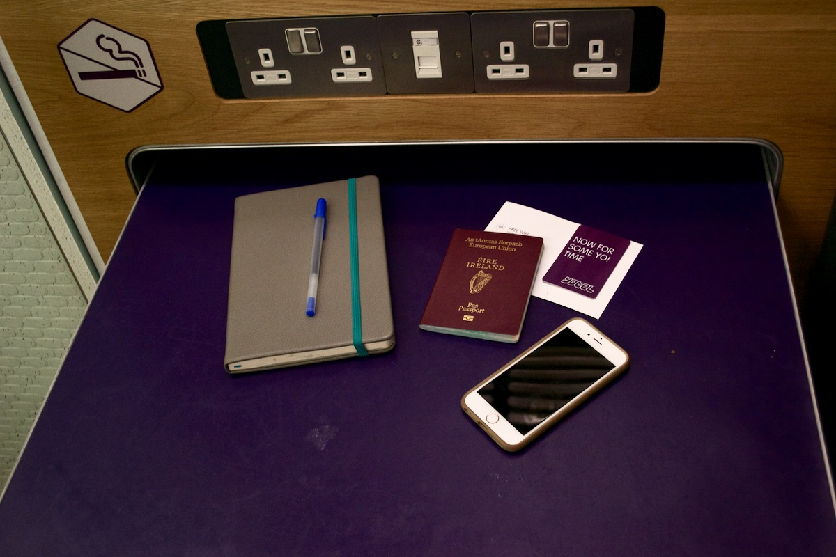 travel essentials yotel