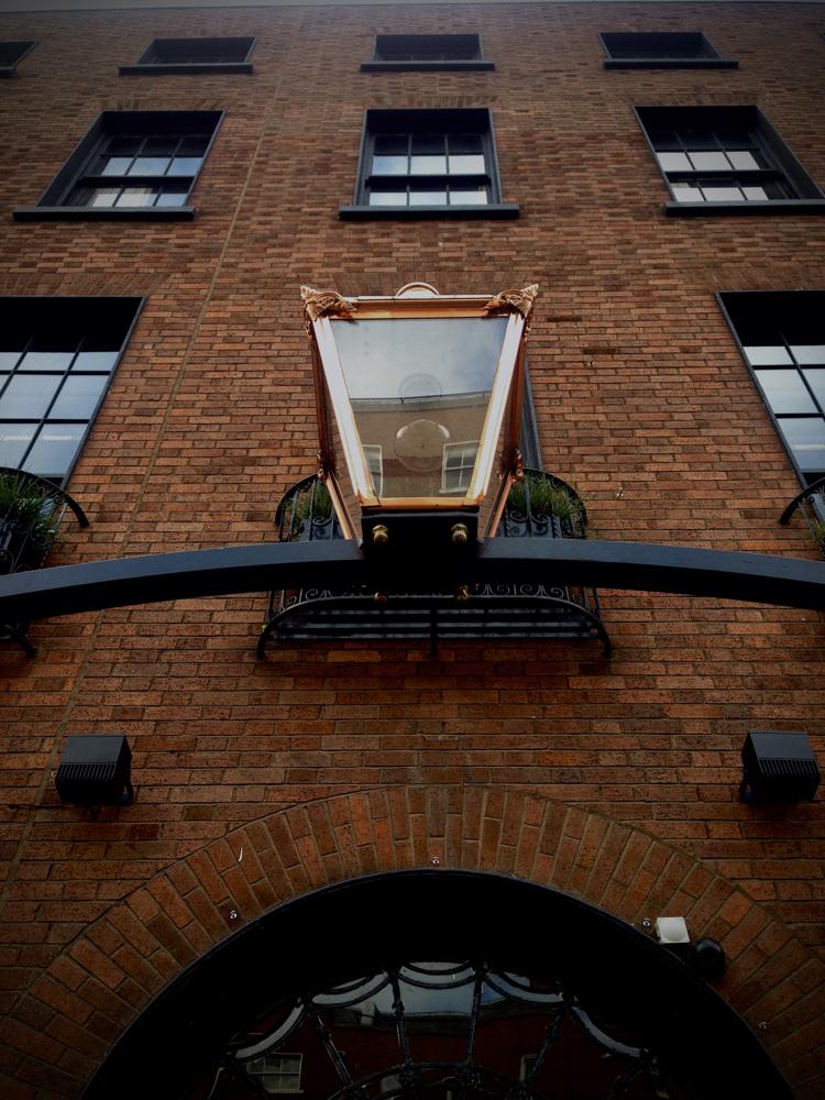 dean hotel dublin entrance lantern