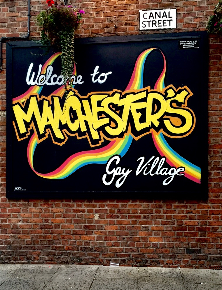 gay village mural manchester canal street