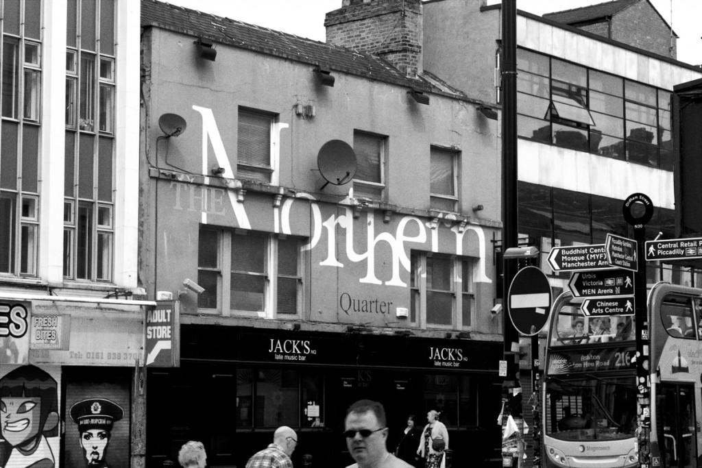 northern quarter sign manchester