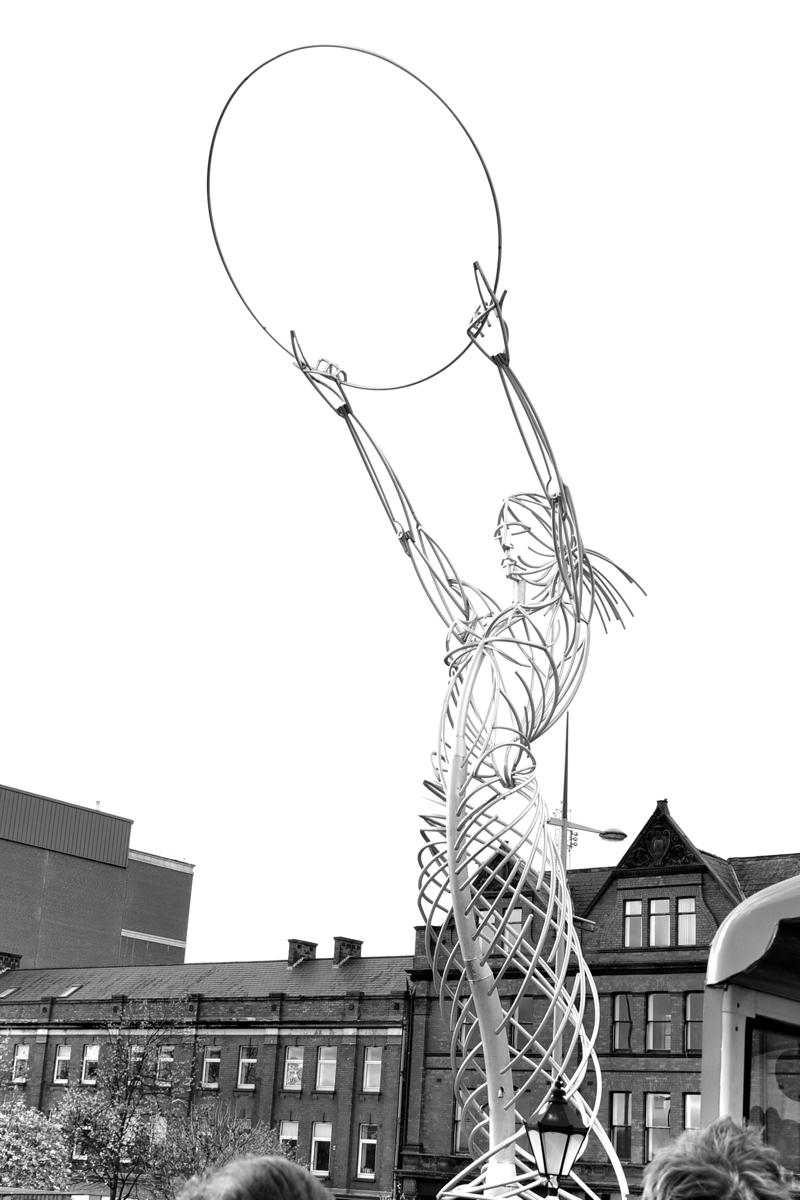 Beacon of Hope sculpture Belfast