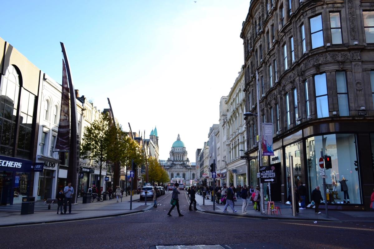 Belfast centre City Hall