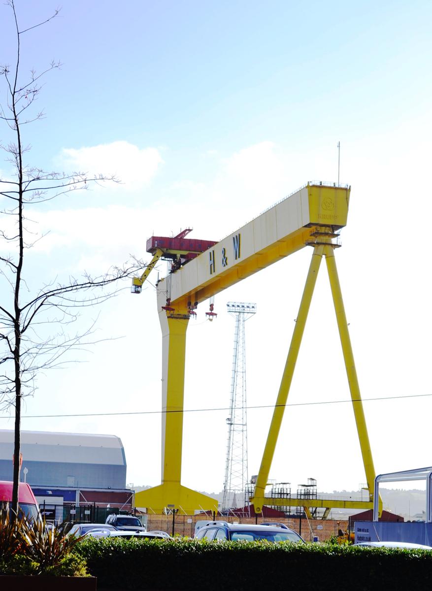 Harland Wolff Samson Titanic Belfast Port