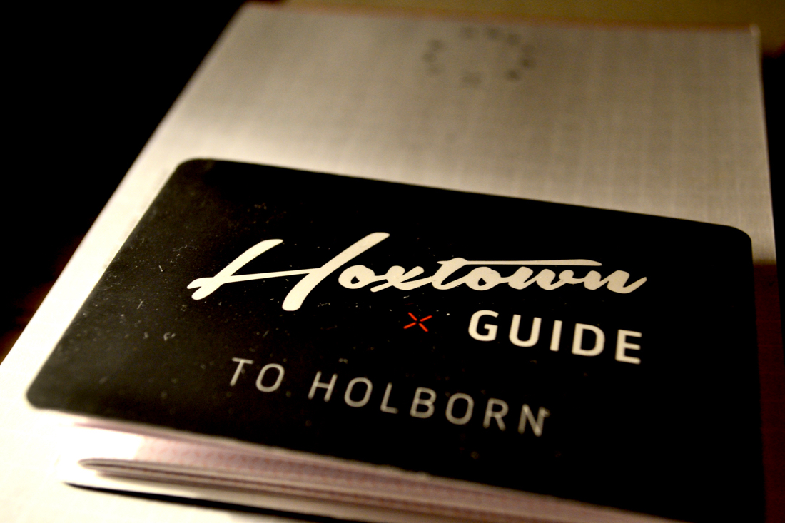 Holborn guide Hoxton