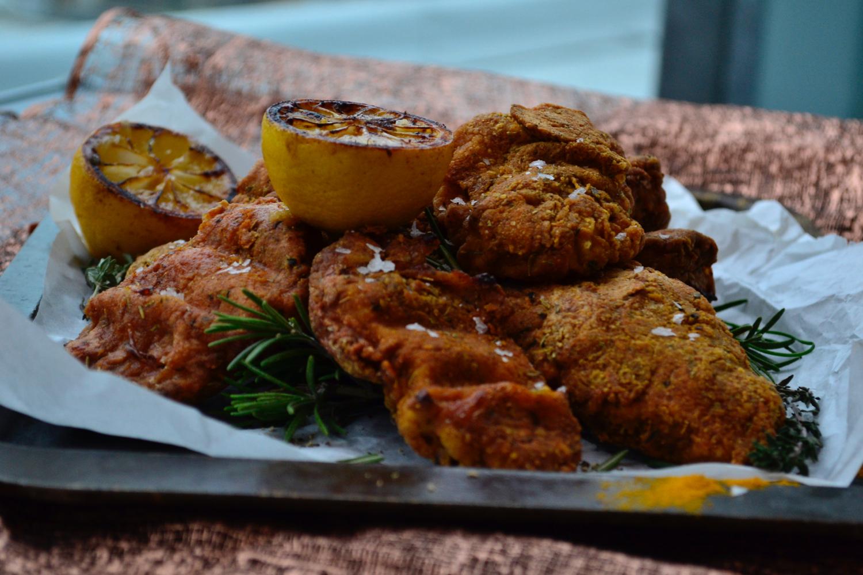 Gastrogays fried chicken macro side