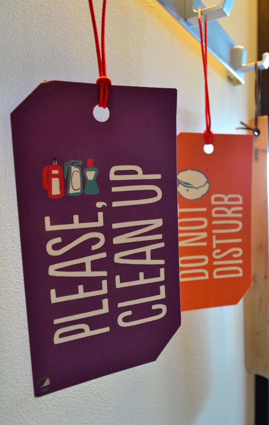 bedroom door signs scandic hotel stockholm