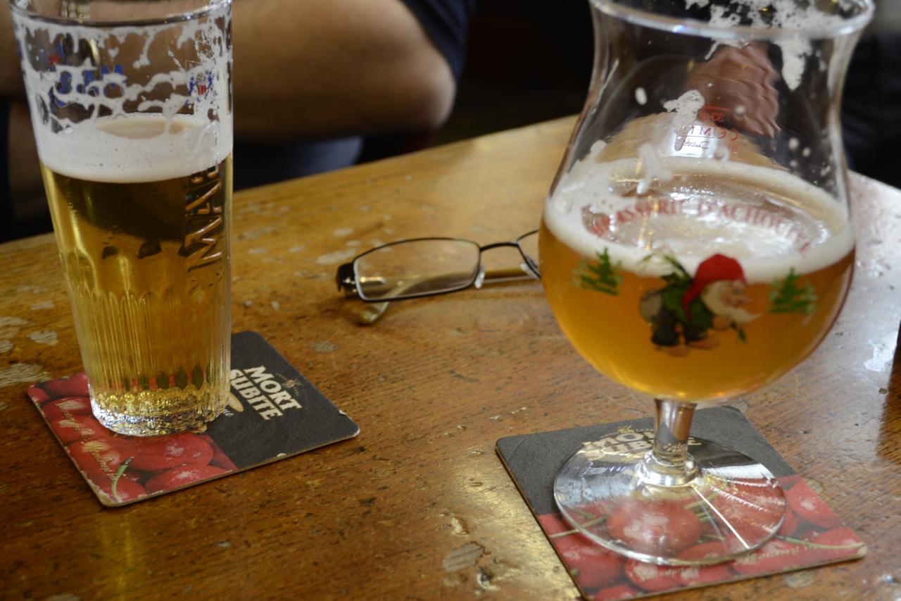 Belgian Beers La Mort Subite Brussels