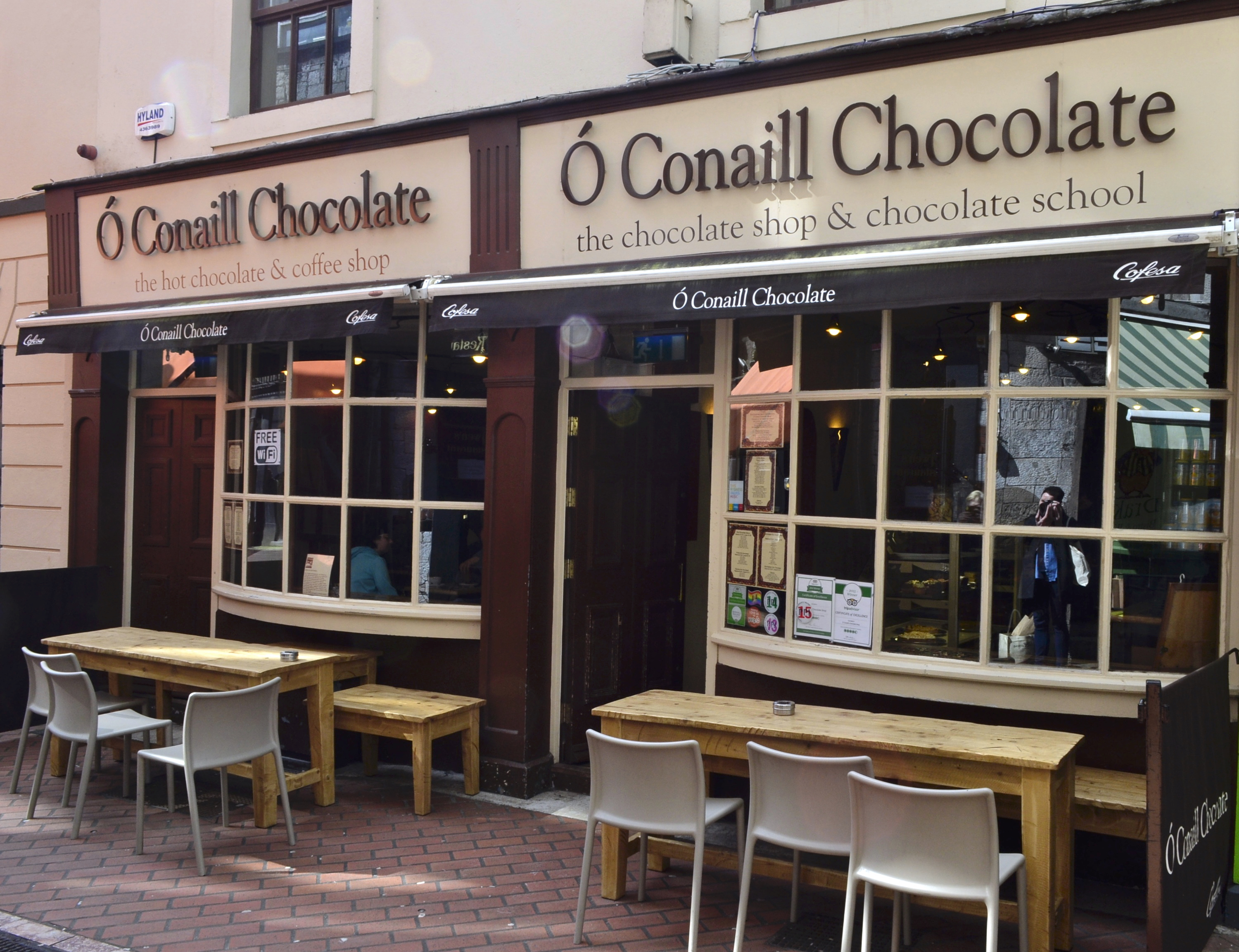 O'Conaill Chocolate, O'Conaill Cork, hot chocolate Cork, hot chocolate Ireland, cork chocolate