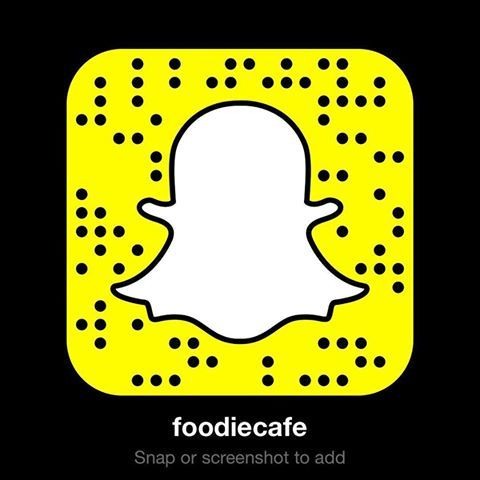 foodiecafe snapcode