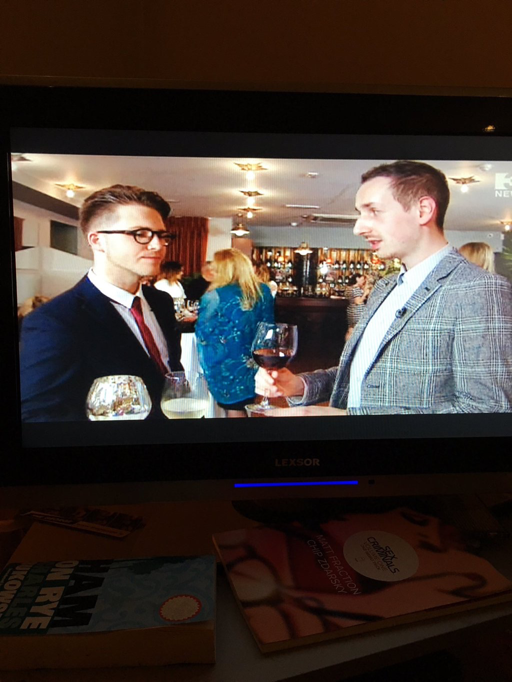 gastrogays the restaurant tv3 wine tasting