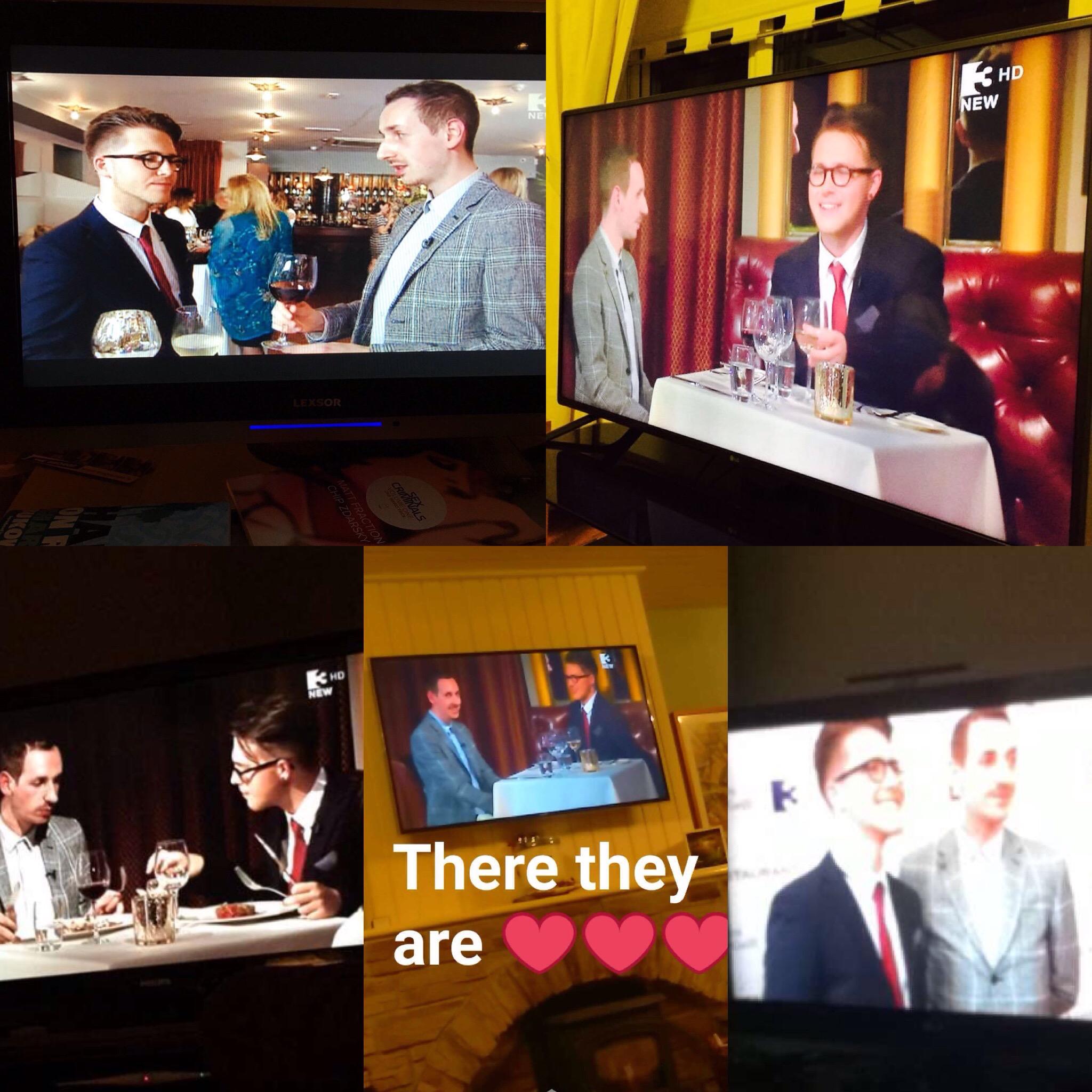 gastrogays tv3 the restaurant collage