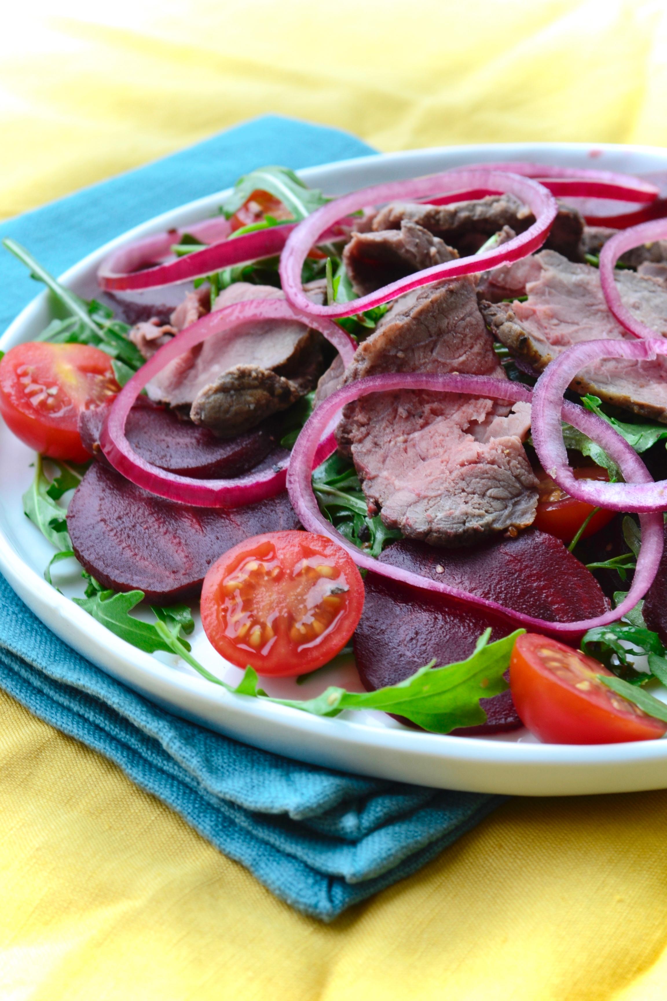 Gt roast beef salad Gastrogays 2
