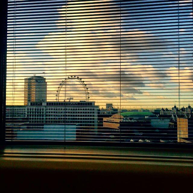 London eye view gastrogays thames window