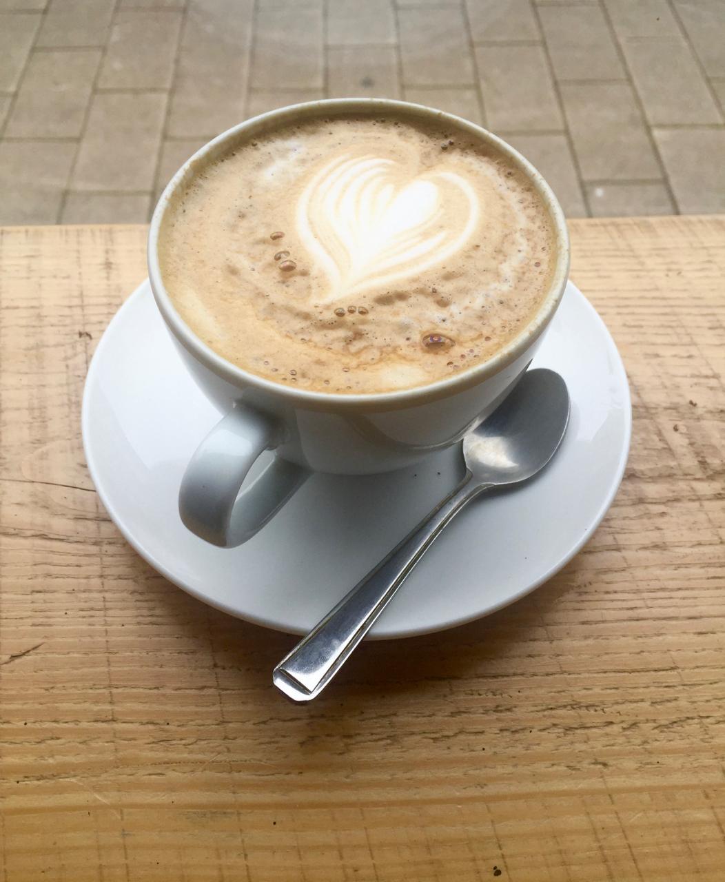 coffee flat white st nicholas market bristol