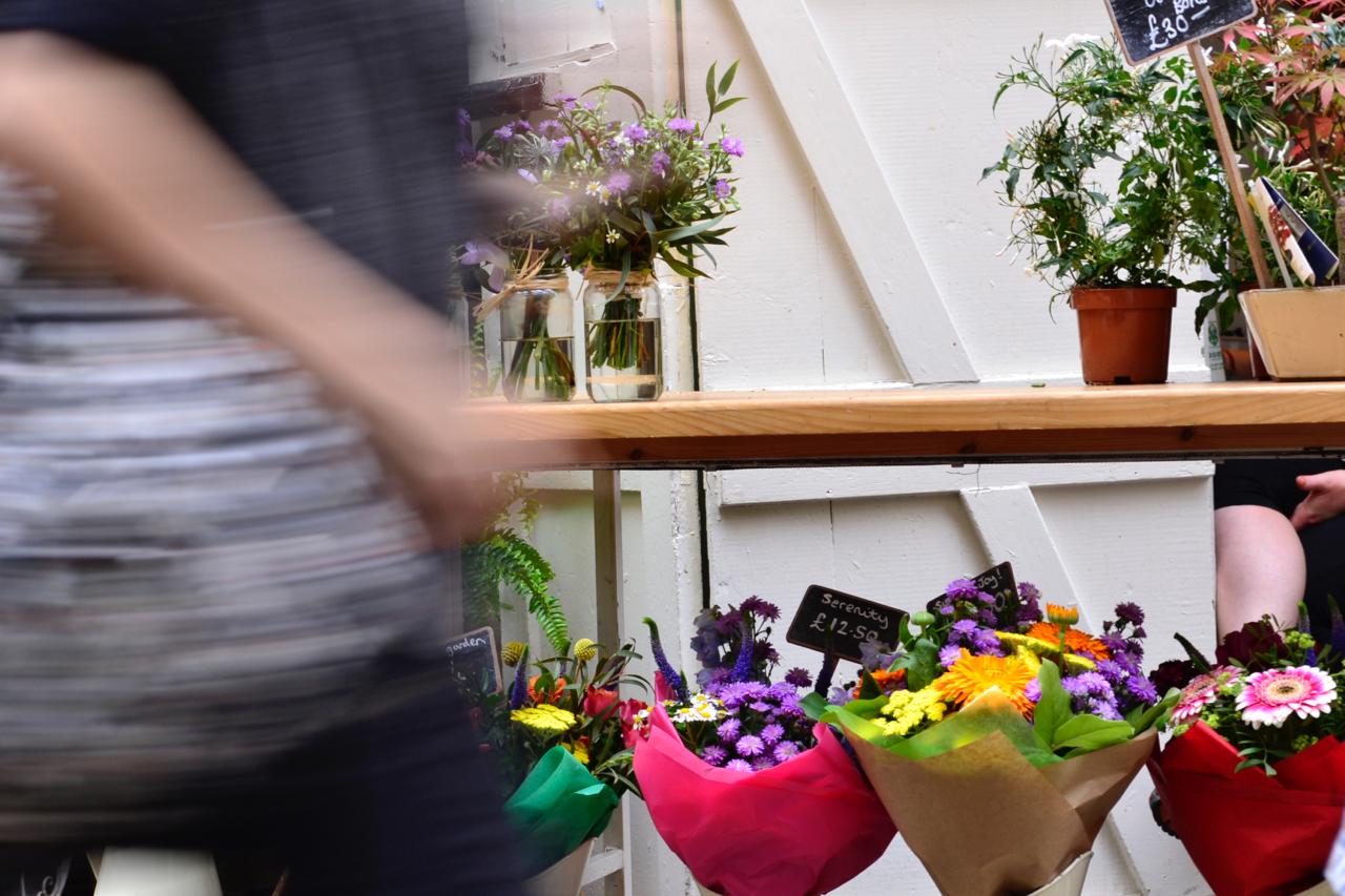 flower stall st nicholas market bristol
