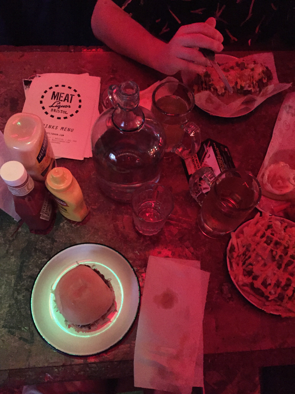 meat liquor bristol overhead table gastrogays