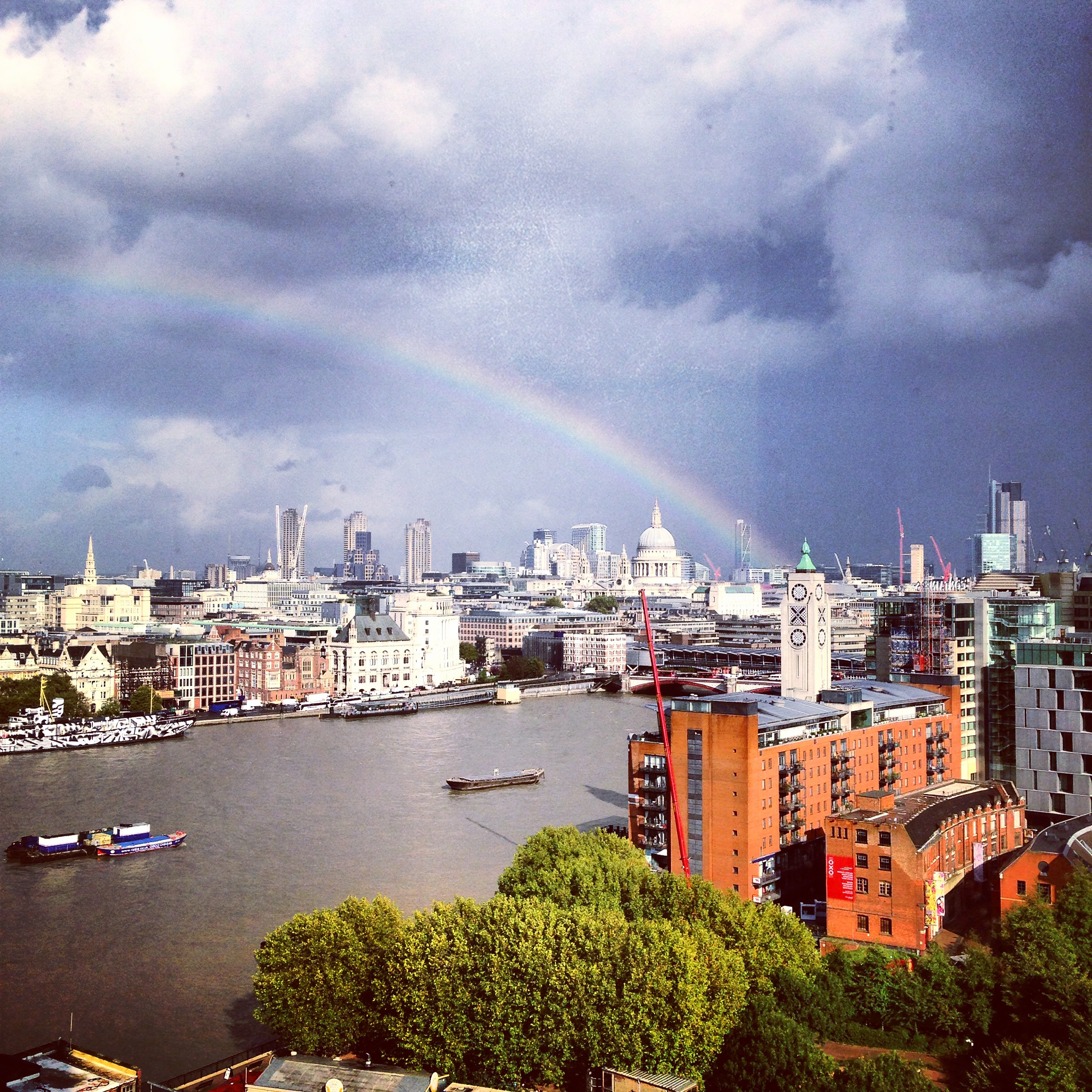 rainbow thames london view gastrogays