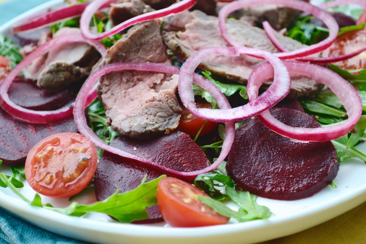 rare roast beef salad recipe gastrogays macro