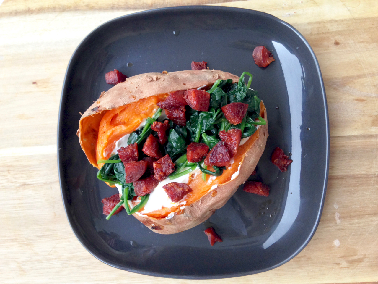 sweet potato gastrogays recipe overhead