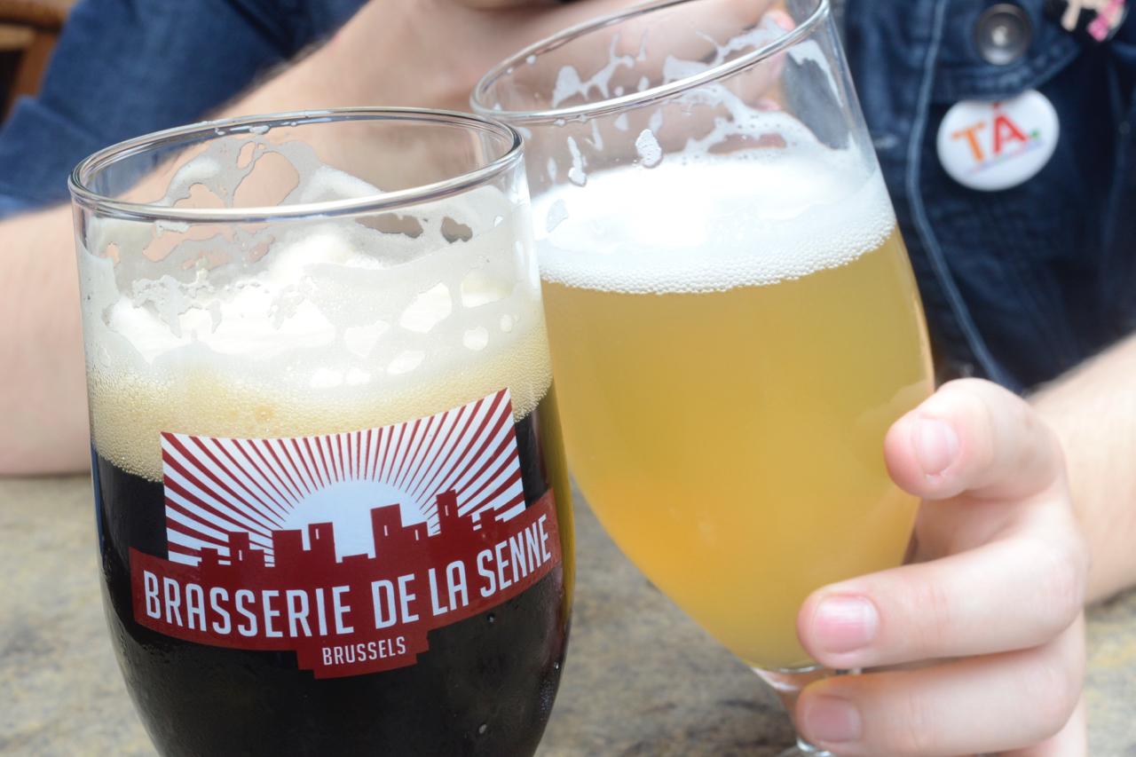 Brussels brasserie de la senne bar beer gastrogays fin de siecle