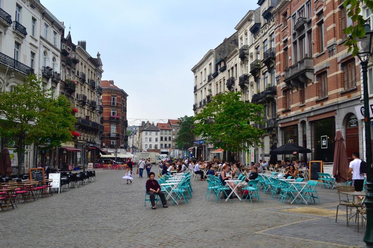 St. Gilles Street Brussels gastrogays travel